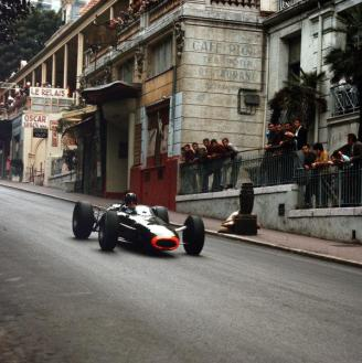 Graham Hill at Monaco, 1965