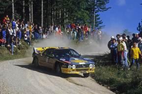 Fabrizio Tabaton & Luciano Tedeschini, 1984 Rallye Sanremo