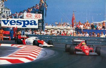 Alboreto & Rosberg, Monaco 1986